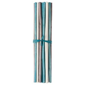 САЛТИГ Декоративная палочка, ароматический белый, бирюзовый, 35 см - 104.652.49