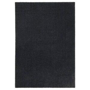 ТЮВЕЛЬСЕ Ковер, короткий ворс, темно-серый, 170x240 см - 204.268.51