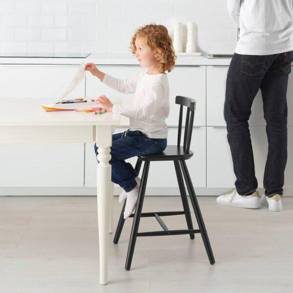 АГАМ Детский стул, черный - 504.670.72