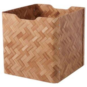 БУЛЛИГ Ящик, бамбук, коричневый - 904.745.94