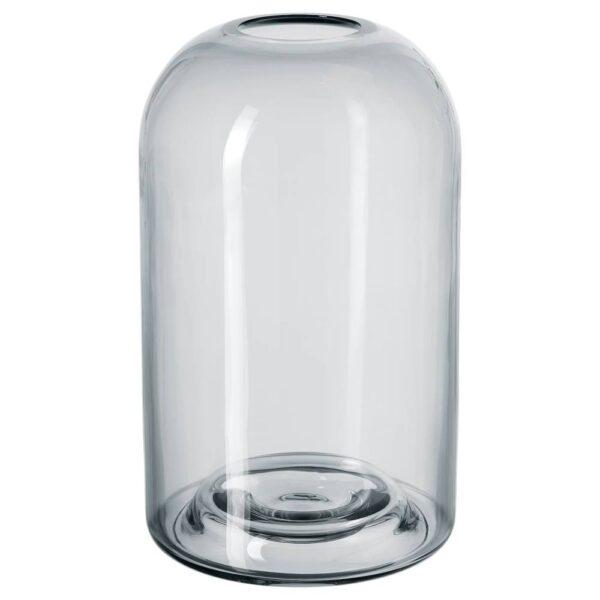ДРЁМСК Ваза, серый - 604.566.76