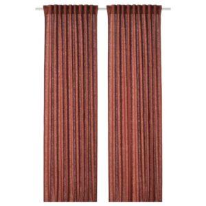 ДЮТОГ Гардины, 1 пара, красно-коричневый - 204.667.81