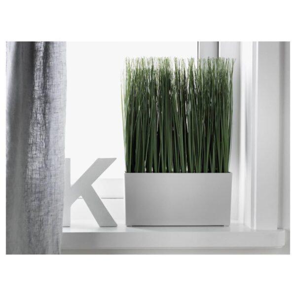 ФЕЙКА Искусственное растение и кашпо, д/дома/улицы трава - 004.704.54