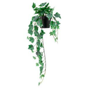 ФЕЙКА Искусственное растение в горшке, д/дома/улицы, подвесной Плющ - 304.611.51