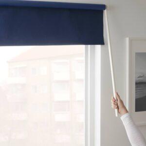 ФРИДАНС Рулонная штора, блокирующая свет, синий - 803.968.94