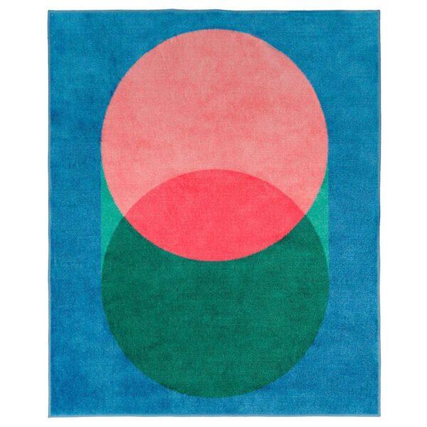 ГРАСИОС Ковер, розовый, синий - 304.625.13