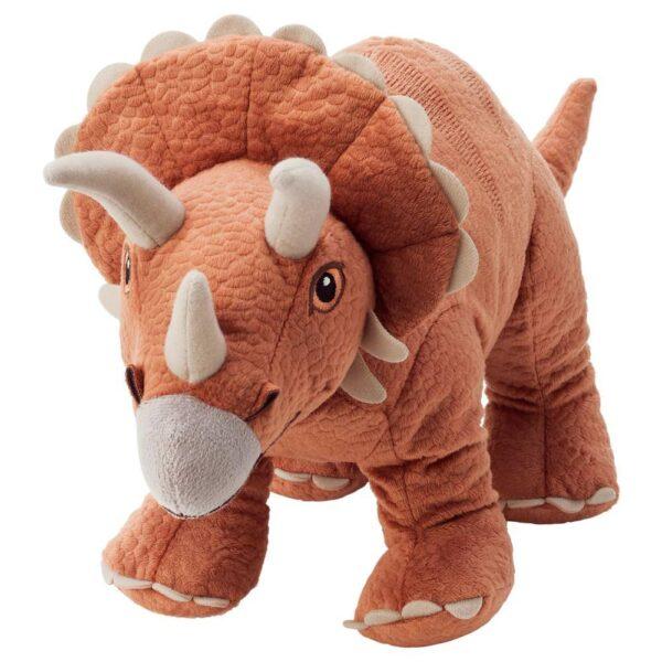 ЙЭТТЕЛИК Мягкая игрушка, динозавр, Трицератопс - 804.712.18