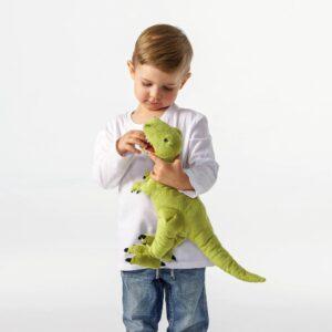 ЙЭТТЕЛИК Мягкая игрушка, динозавр, Тираннозавр Рекс - 004.711.99