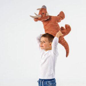ЙЭТТЕЛИК Мягкая игрушка, динозавр, Трицератопс - 504.711.87