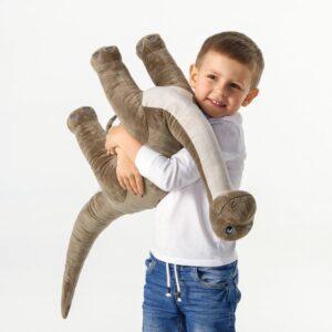 ЙЭТТЕЛИК Мягкая игрушка, динозавр, Бронтозавр - 904.712.08