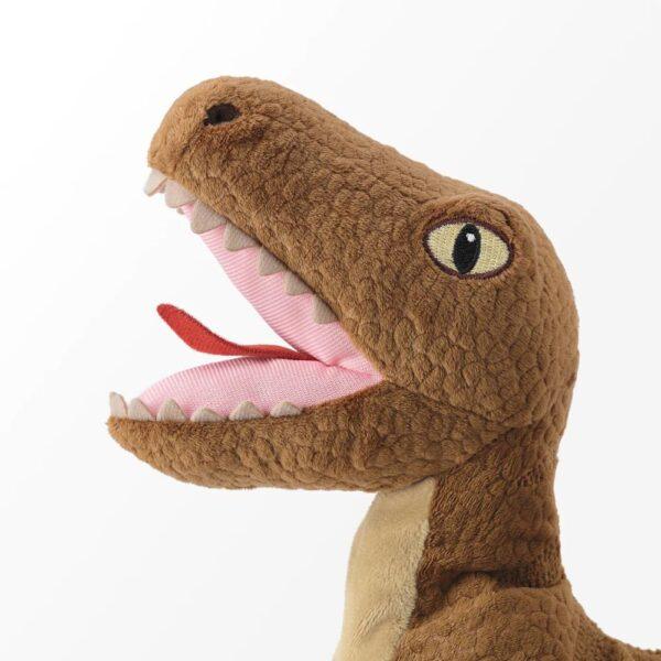 ЙЭТТЕЛИК Мягкая игрушка, динозавр, Велоцираптор - 504.712.05