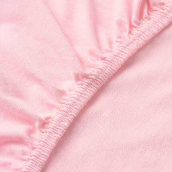 ЛЕН Простыня натяжная, розовый - 904.652.93