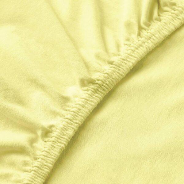 ЛЕН Простыня натяжная, желтый - 604.653.03