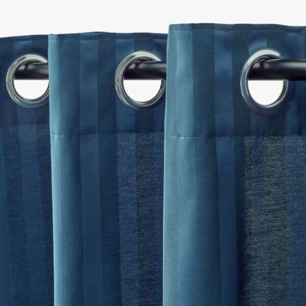 МАЙРИД Затемняющие гардины, 1 пара, синий - 004.698.89