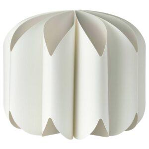 МОЙНА Абажур для подвесн светильника, текстиль, белый - 604.518.67
