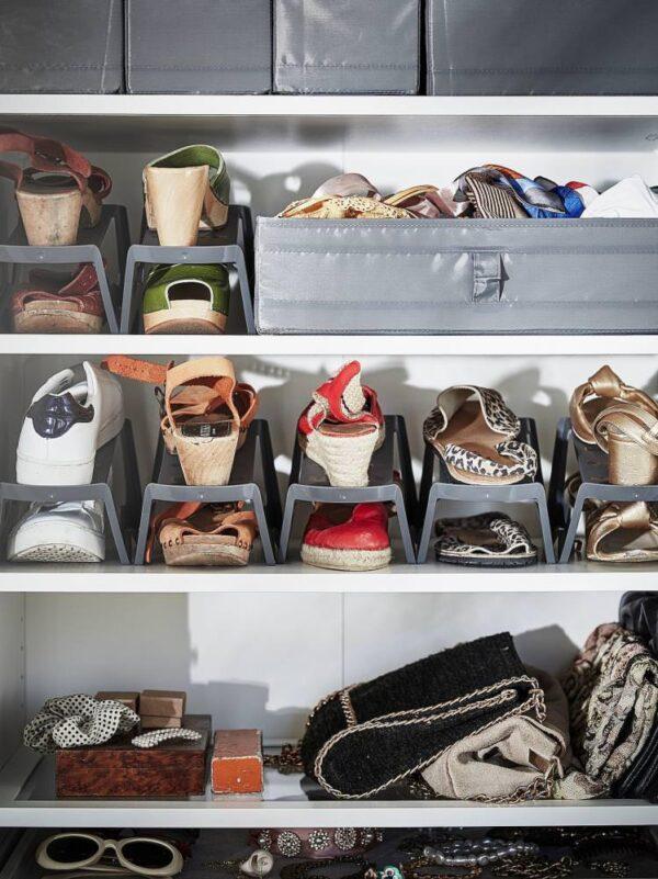 МУРВЕЛЬ Модуль для хранения обуви, серый - 004.680.07