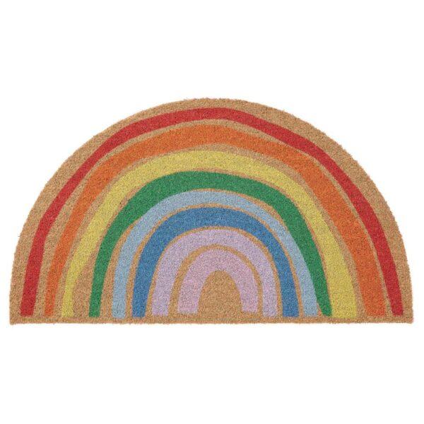 ПИЛЛЕМАРК Придверный коврик для дома, радуга - 304.810.12