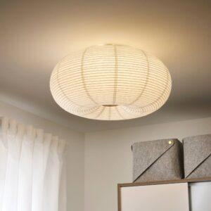 РИСБЮН Светодиодный потолочный светильник, белый - 104.644.57