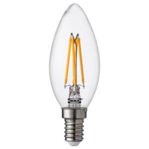 РИЭТ Светодиод E14 260 лм, свечеобразный, прозрачный - 604.164.59