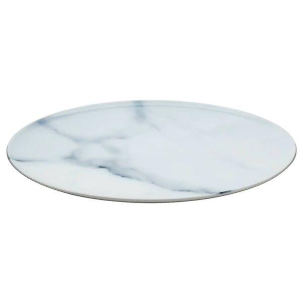 САМСТЭММИГ Блюдо, белый, с печатным рисунком - 204.682.52