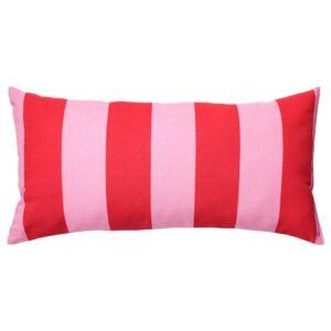 САРАКАЙСА Подушка, розовый/красный, в полоску - 404.728.04