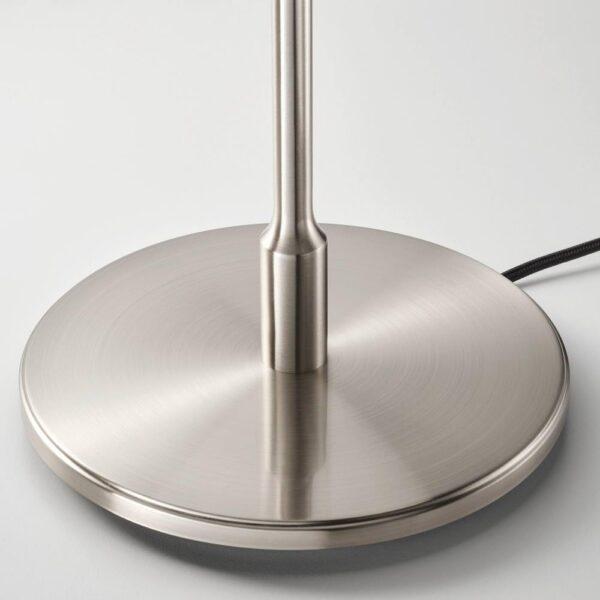 ТЭЛЛЬБЮН Лампа настольная, никелированный, молочный стекло - 204.376.75