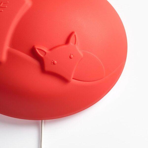 УППЛИСТ Бра, светодиодный, лиса оранжевый - 104.491.55