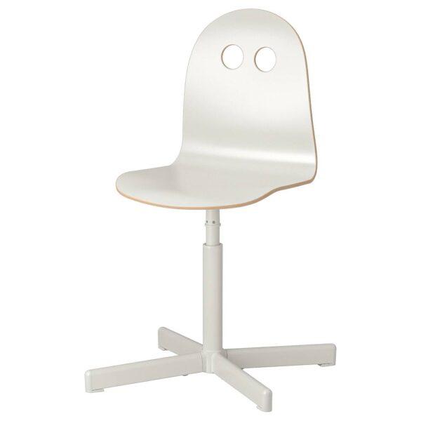 ВАЛЬФРЕД / СИББЕН Детский стул д/письменного стола, белый - 993.377.67