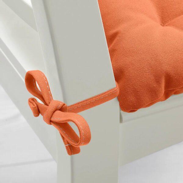 ВИППЭРТ Подушка на стул, оранжевый - 104.869.30