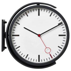 БИССИНГ Настенные часы, черный - 004.542.89