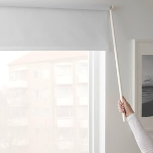ФРИДАНС Рулонная штора, блокирующая свет, белый - 203.968.73