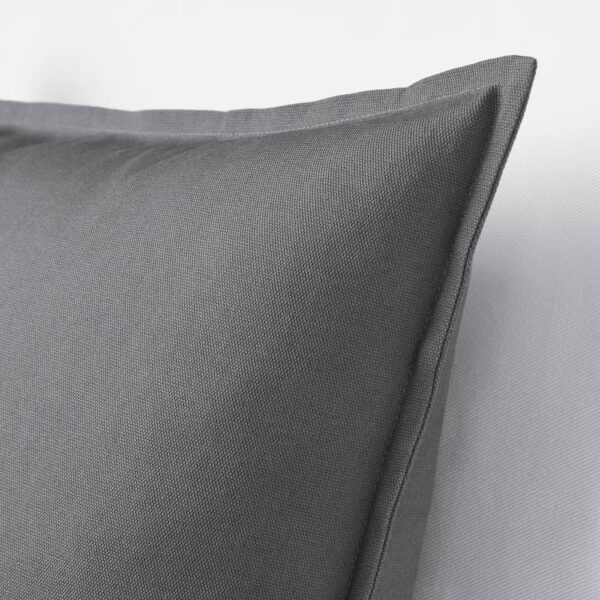ГУРЛИ Чехол на подушку, темно-серый - 404.746.95