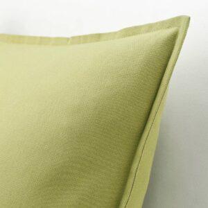 ГУРЛИ Чехол на подушку, оливково-зеленый - 804.746.98