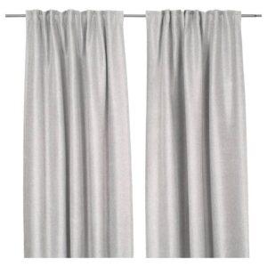 ИНГИМУНДА Затемняющие гардины, 1 пара, серый - 904.803.97