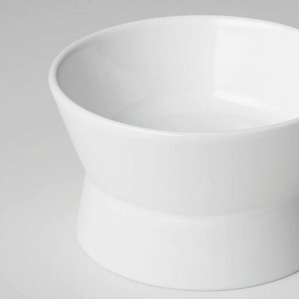 ЛУРВИГ Двусторонняя миска, белый - 504.844.77