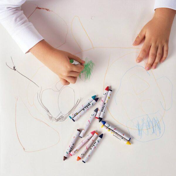 МОЛА Восковой карандаш, разные цвета - 104.776.24