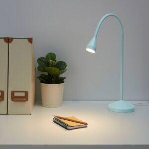 НЭВЛИНГЕ Рабочая лампа, светодиодная, голубой - 404.772.55