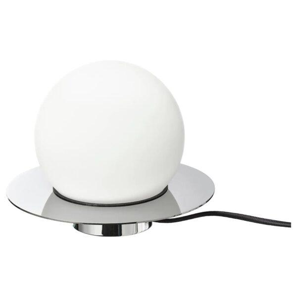 СИМРИСХАМН Настольная лампа/бра, хромированный, молочный стекло - 204.378.02