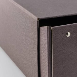 АНИЛИНАРЕ Коробка для обуви, темно-коричневый - 204.767.61