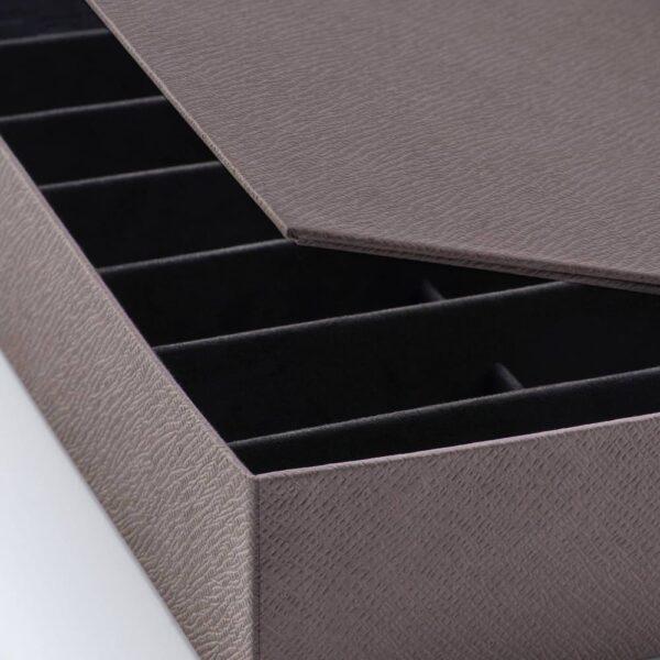 АНИЛИНАРЕ Шкатулка д/украшений, с отделениями, темно-коричневый - 304.767.65