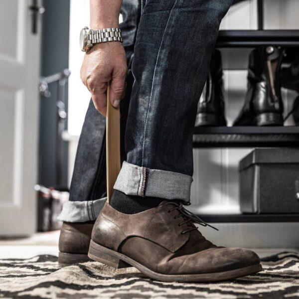 БОРДИГ Рожок для обуви, бамбук - 804.802.46