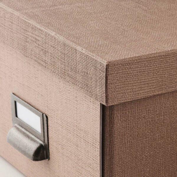 ЧУГ Коробка с крышкой, темно-бежевый - 904.746.07