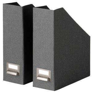 ЧУГ Подставка для журналов, темно-серый - 504.776.60