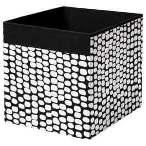 ДРЁНА Коробка, черный/белый - 204.680.87
