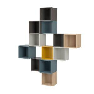 ЭКЕТ Комбинация настенных шкафов, разноцветный 2 - 293.860.54