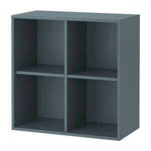 ЭКЕТ Шкаф с 4 отделениями, серо-бирюзовый - 704.819.96
