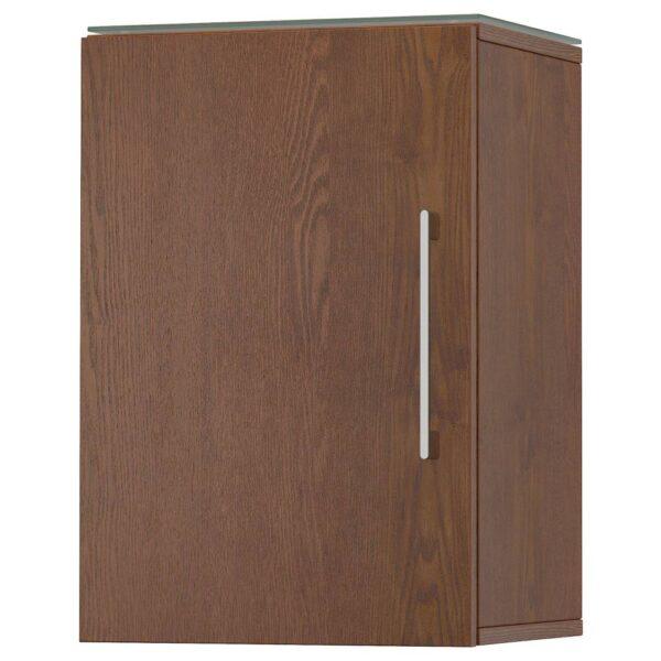 ГОДМОРГОН Навесной шкаф с 1 дверцей, под коричневый мореный ясень - 804.579.34