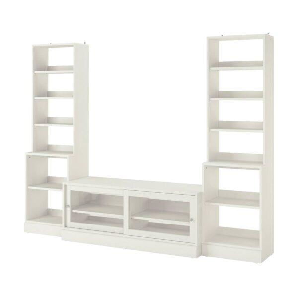 ХАВСТА Шкаф для тв, комбинация, белый - 093.861.92