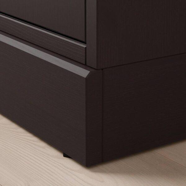 ХАВСТА Шкаф для тв, комбинация, темно-коричневый - 193.861.77