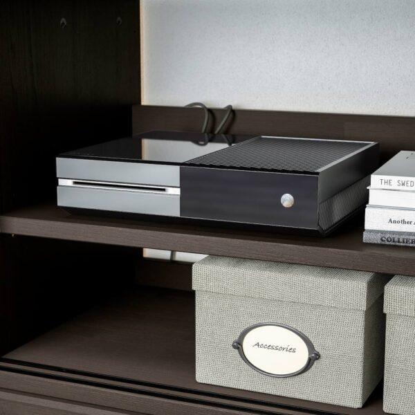 ХАВСТА Шкаф для тв, комбинация, темно-коричневый - 293.861.86